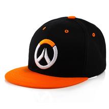Overwatch Baseball Cap Peaked Cap Unique Series Orange Logo - $19.99