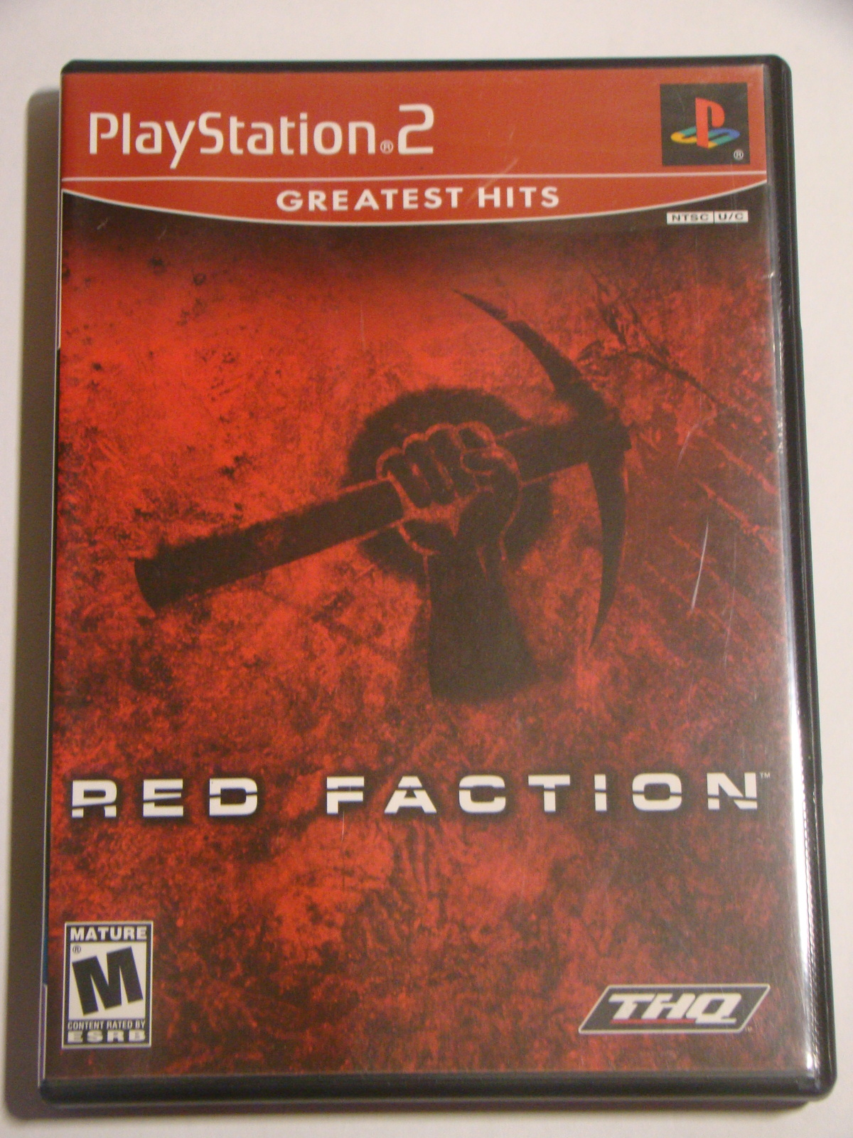 Playstation 2 - RED FACTION (Complete with Manual)