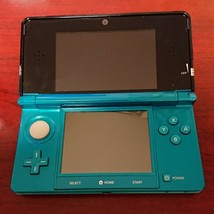 Nintendo 3DS Console System Aqua Blue From Japan Used Console Only - $95.03