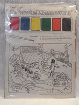 Vintage 1970's/80's Planters Peanuts Mr Peanut Children's Paint Sheet - ... - $17.95