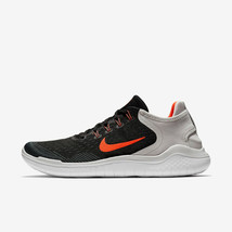 MEN'S NIKE FREE RN 2018 SHOES black crimson grey 942836 005 - $64.98
