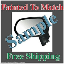 New Painted to Match Power Mirror Fits 11-14 Hyundai Sonata Left Driver ... - $131.62