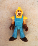 Fisher-Price Imaginext Brad Figure Big Rig City Tow Truck Driver 2013 - $3.50