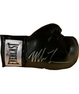 Mike Tyson signed Black Everlast Right Boxing Glove- Tyson/Fiterman Holo... - $123.95