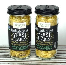 2 Pack Nutritional YEAST Flakes Spice Frontier Natural Products 0.81 oz ... - $18.86