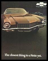 1971 Chevrolet Camaro Original Brochure- RS SS Z28 Xlnt 71 - $12.53