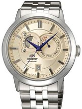Orient Automatic Sun and Moon Watch with Sapphire Crystal ET0P002W - $319.12