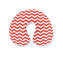 Chevron Red Travel Neck Pillow - $25.22 CAD