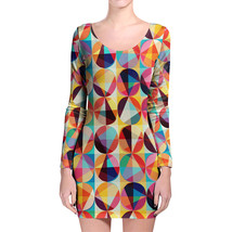 POP Circles Longsleeve Bodycon Dress - $36.99+