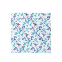 Origami Birds Satin Style Scarf - ₨1,558.60 INR+