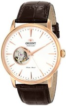 """Orient Men's DB08001W """"Esteem"""" Stainless Steel Automatic Watch with Leather - $198.43"""