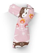 Oh Deer! Pastel Pink Fleece Scarf - ₨2,236.55 INR+