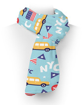 The Big Apple New York USA Fleece Scarf - ₨2,236.55 INR+