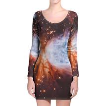 Space Nebula Longsleeve Bodycon Dress - $36.99+