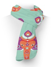 Oriental Indian Elephant Fleece Scarf - $618,34 MXN+