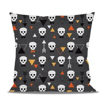 Geometric Skulls Fleece Cushion - $24.99+