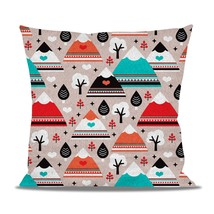 South Western Mountain Ranges Fleece Cushion - $24.99 - $41.99