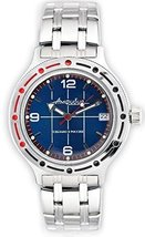 Vostok Amphibian Military Russian Diver Watch Scuba Dude 2416 / 420331 - $73.24