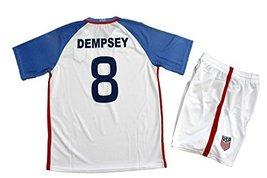 2016-2017 USA Dempsey #8 Adult Jersey Size Small - $30.37