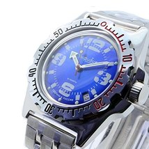 Vostok Amphibian 110902 / 2416b Scuba Diving Military Russian Watches Me... - $73.04