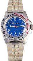 Vostok Amphibian Military Russian Diver Watch Classic Blue 2416 / 110908 - $74.21