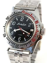 Vostok Amphibian 110909 / 2416b Scuba Diving Military Russian Watches Me... - $74.69