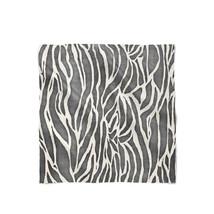 Zebra Print Satin Style Scarf - ₨1,558.60 INR+