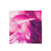 Pink Abstract Watercolor Satin Style Scarf - $430,91 MXN+