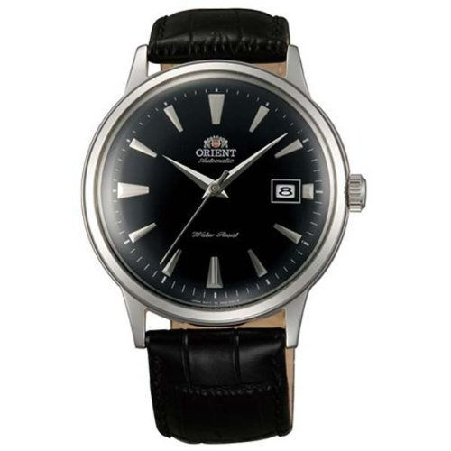 Primary image for Orient ER24004B Men's Bambino Automatic Black Dial Black Leather Strap Mechan...