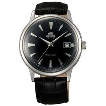 Orient ER24004B Men's Bambino Automatic Black Dial Black Leather Strap M... - $257.05
