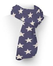 Navy Stars Fleece Scarf - ₨2,236.55 INR+