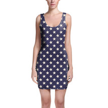 Navy Stars Bodycon Dress - $30.99+