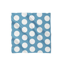 Large Polka Dots on Blue Satin Style Scarf - $430,91 MXN+