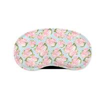 Pink Roses on Blue Polka Dots Sleeping Mask - €11,04 EUR