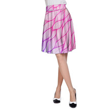 Japanese Leaves Ombre A-Line Skirt - $32.99+