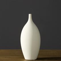 KeKe White Porcelain Vase Moden Floral Vases fo... - $29.99