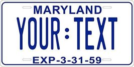 Maryland 1959 Personalized Tag Vehicle Car Auto License Plate - $16.75