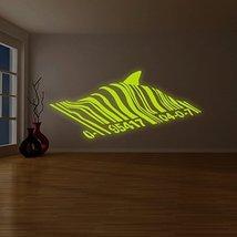 "( 94"" x 42"" ) Banksy Glowing Vinyl Wall Decal Barcode Shark / Glow in Dark Fi... - $244.52"