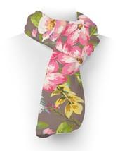Tropical Vintage Florals Fleece Scarf - $43.40 CAD+