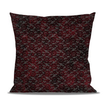 Blood Red Lace Fleece Cushion - $24.99 - $41.99