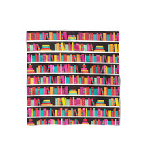 Library Book Case Satin Style Scarf - ₨1,607.60 INR+