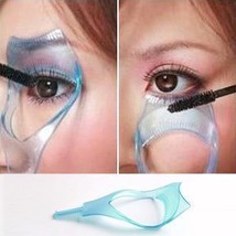 3in1 Makeup Eye Lash Brush Mascara Eyelash Curler Guard Applicator Comb ... - €1,97 EUR