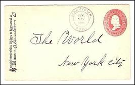 1884 Allentown, OH Discontinued/Defunct Post Office (DPO) Postal Cover - $9.95