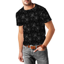 Spider Webs Mens Cotton Blend T-Shirt - $30.99+