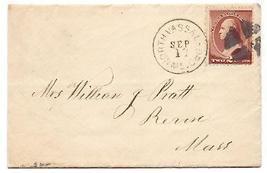 1884 North Vasslboro, ME/Revere MA Discontinued/Defunct Post Office (DPO... - $9.95