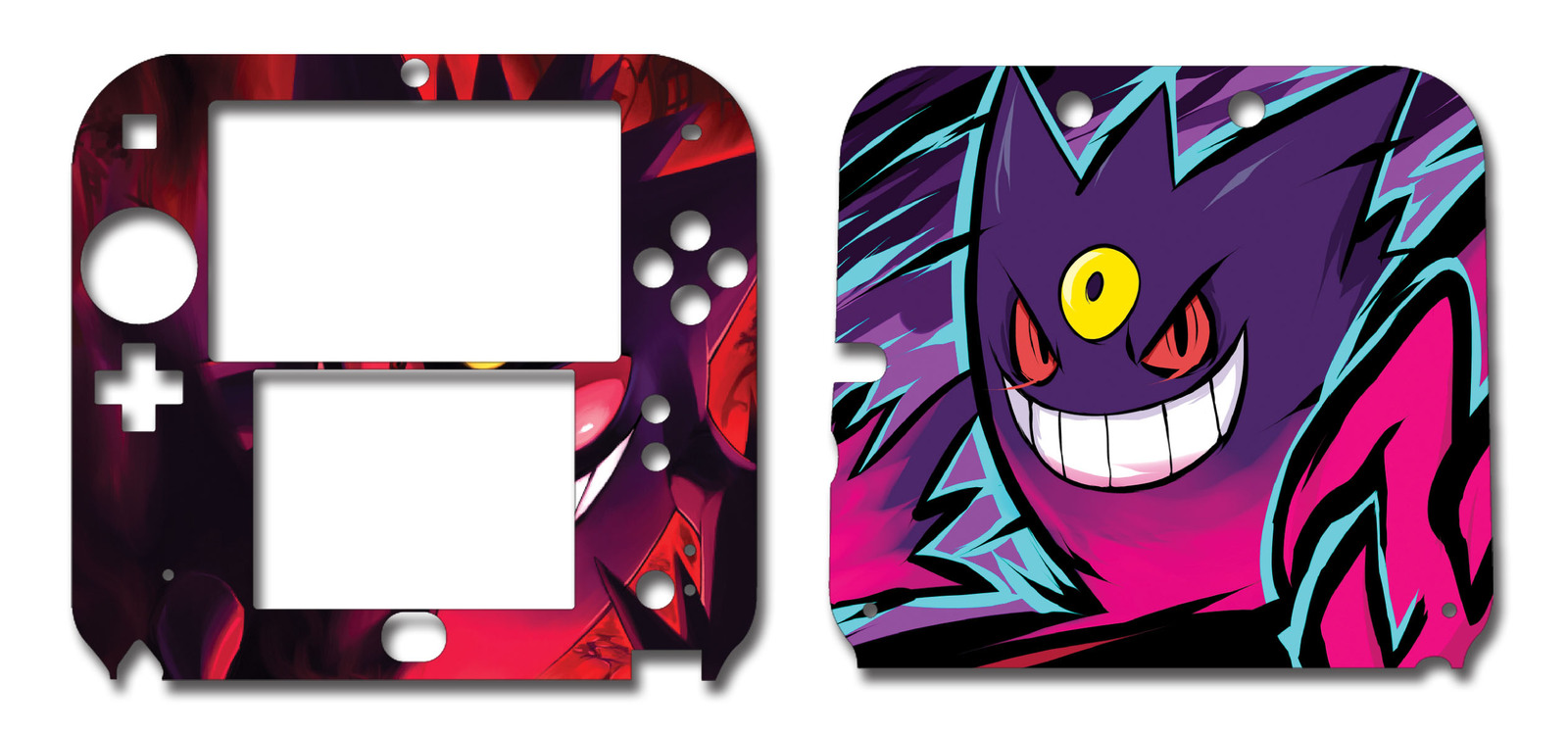 Pokemon Mega Gengar Nintendo 2ds Vinyl Skin And 50 Similar Items