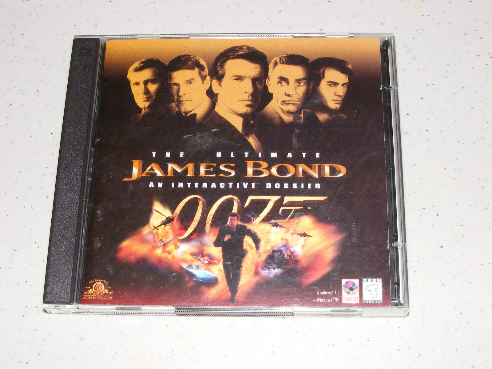 Primary image for The Ultimate James Bond An Interactive Dossier PC Game