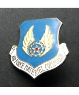 US Air Force USAF Materiel Command Shield Lapel Pin Badge 1 Inch - $4.85