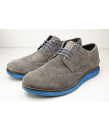 Vito Rossi 10 Gray Blue Oxfords Men's Shoes - $26.00