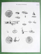 1816 TECHNOLOGY Print - Watchwork Watch Parts - $21.78